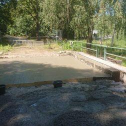 Rekonstrukce mostku v Lazních Bohdaneč